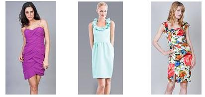 bridesmaids dresses for garden weddings