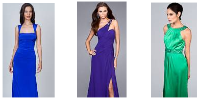 dressy, chic glamorous bridesmaid dresses
