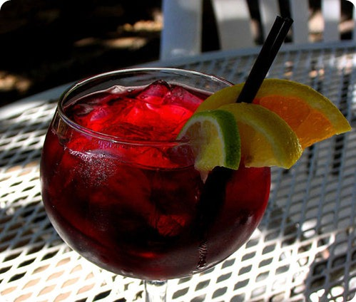 sangria cocktail red signature drink