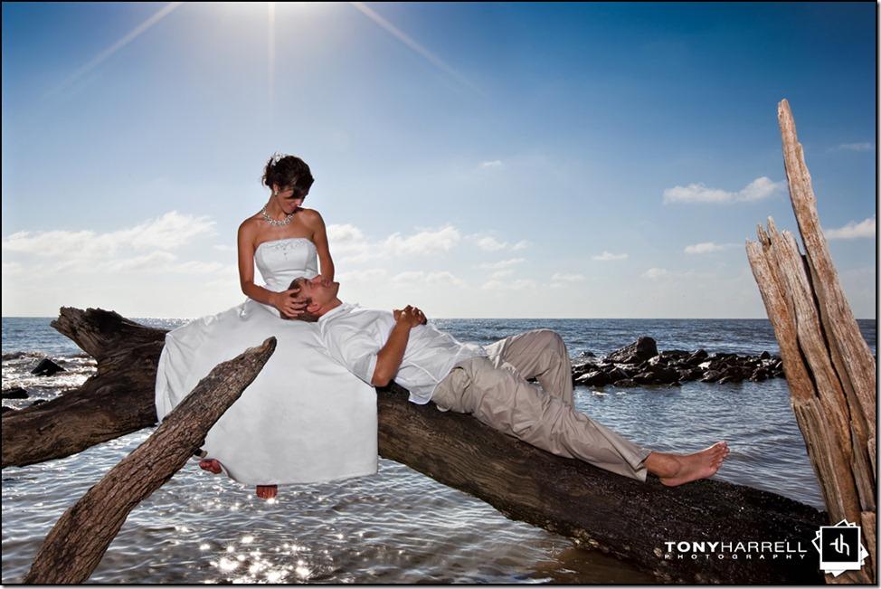 driftwood beach jekyll island wedding