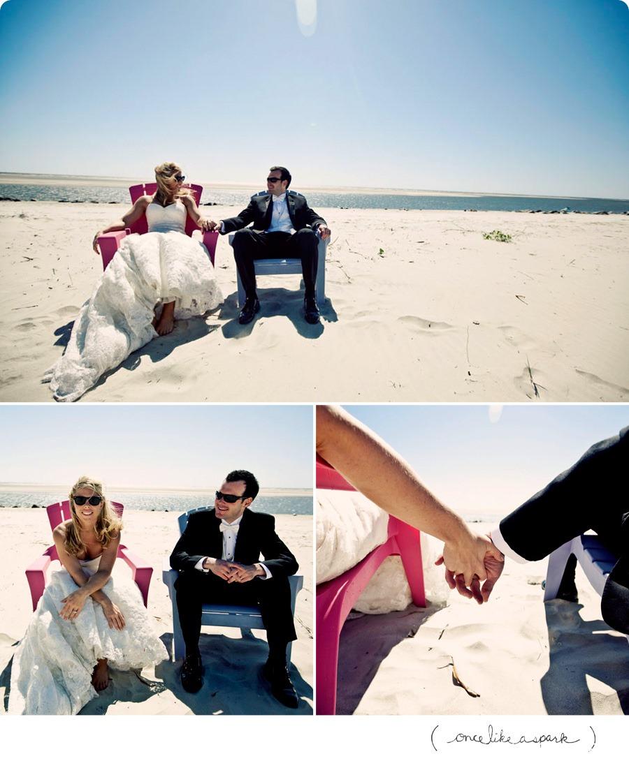 beach wedding on st simons