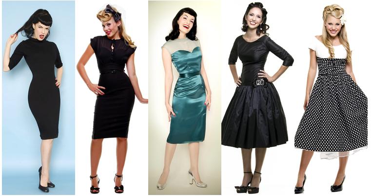 vintage wedding and bridesmaids dresses
