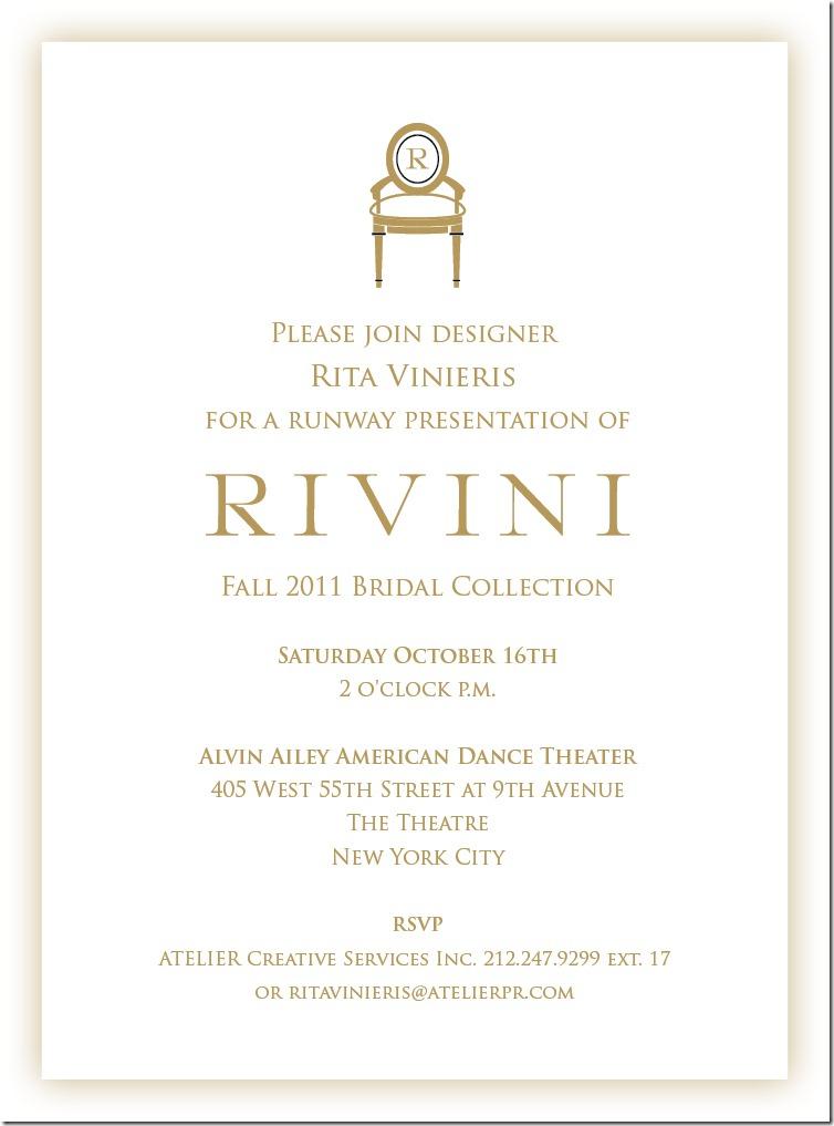 RIVINI-Bridal Show evite Oct.16th