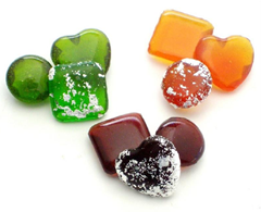 edible gems for signature drinks