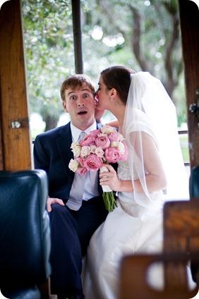 St. Simons Trolley for Weddings