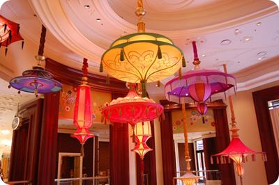 Hanging Parasols for decor unusual unique wedding inspiration ideas
