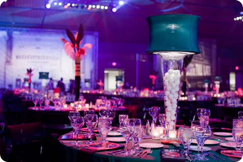 Lampshade Centerpieces for weddings and events