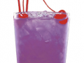 purple cocktail for signature drink wedding