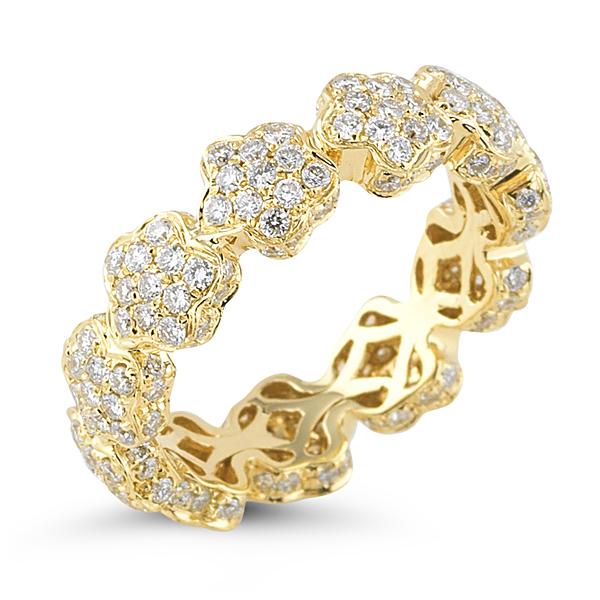 Dana Rebecca Designs Karly Beth Ring - 14K Yellow Gold with Diamonds