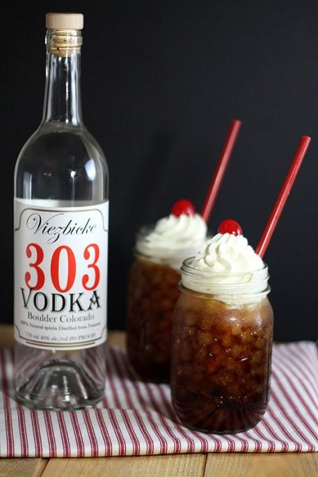 Root Beer Vodka Float