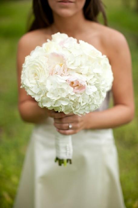 Peony Rose Hydrangea Bouquet