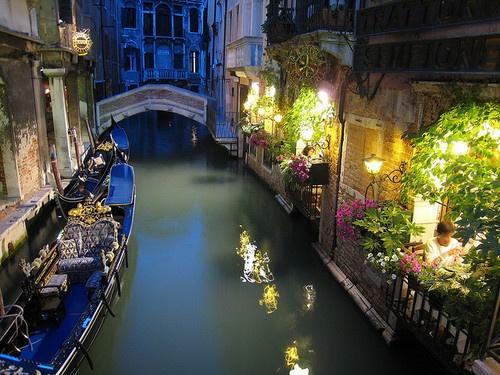 waterway for gondola