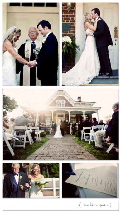 Wedding at the St Simons Lighthouse Keeper's House
