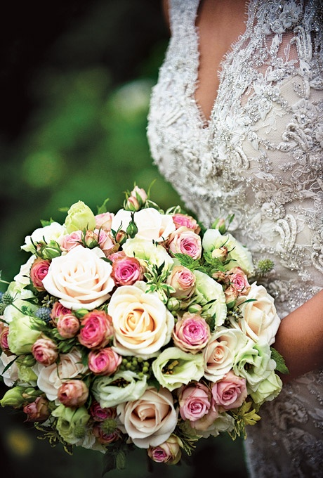 Roses, mint, pittosporums, thistles, and seeded eucalyptus