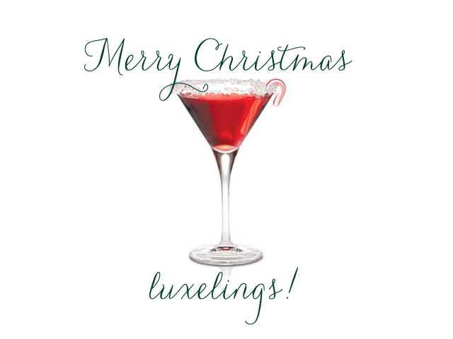 Merry Christmas Martini