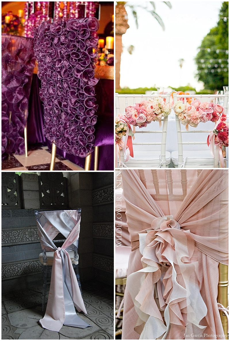 chair ties and covers for weddings