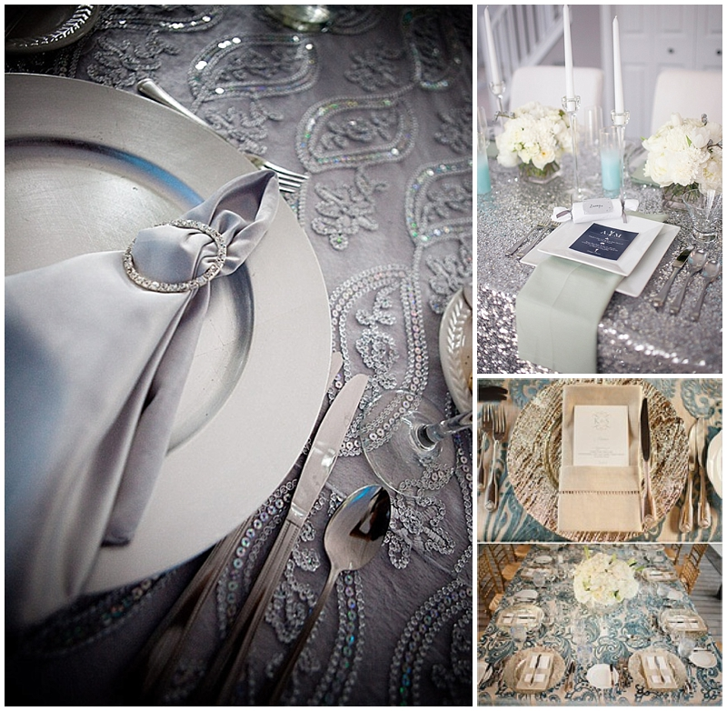 table linens for weddings