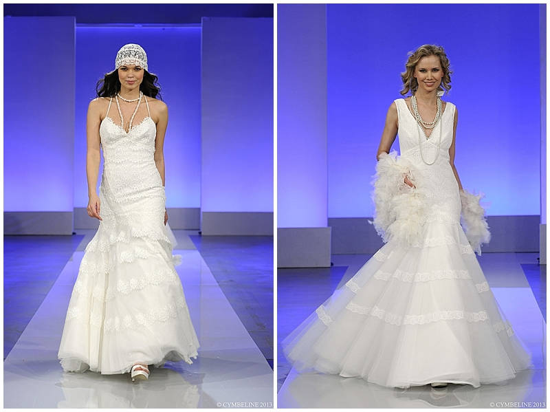 Flapper Inspired Wedding Gowns by Cymbeline