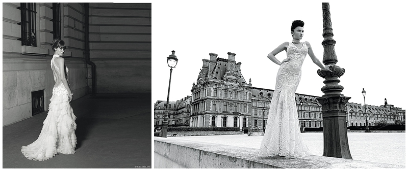 Art Deco Vintage Wedding Gowns by Cymbeline