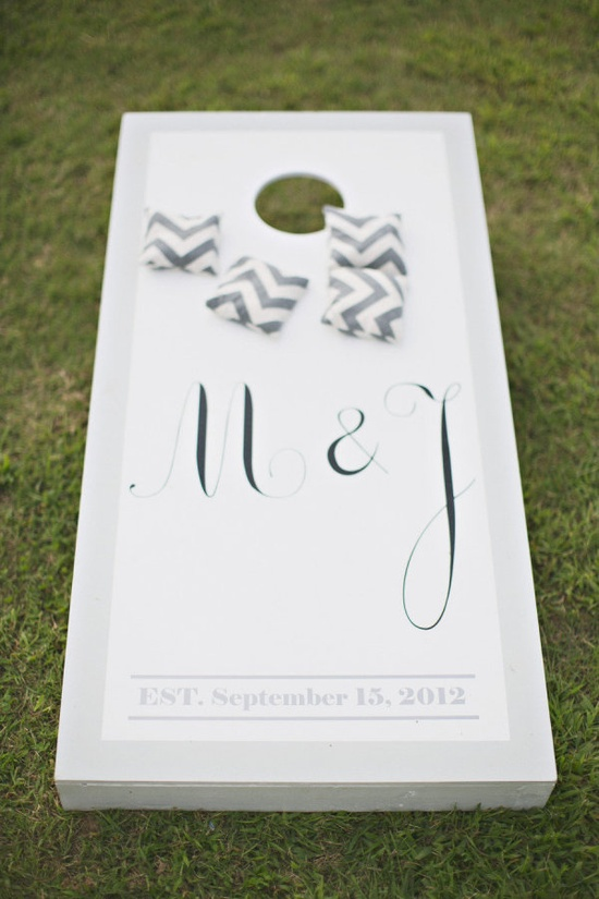 Custom Cornhole for Weddings
