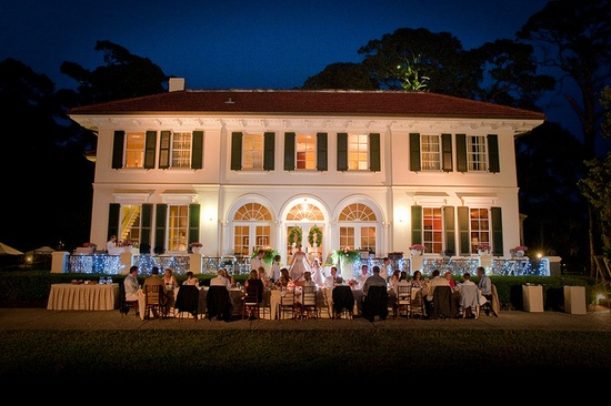 Cherokee Cottage Jekyll island Wedding reception Venue