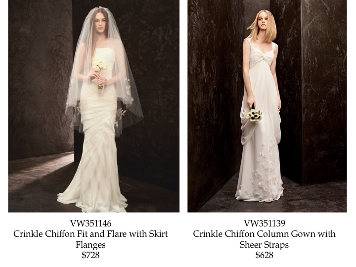 Vera Wang White Great Gatsby Inspired Wedding Dress