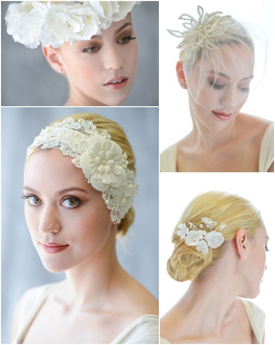 bridal headpieces headbands for wedding