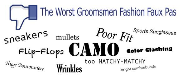 Groomsmen Fashion Mistakes