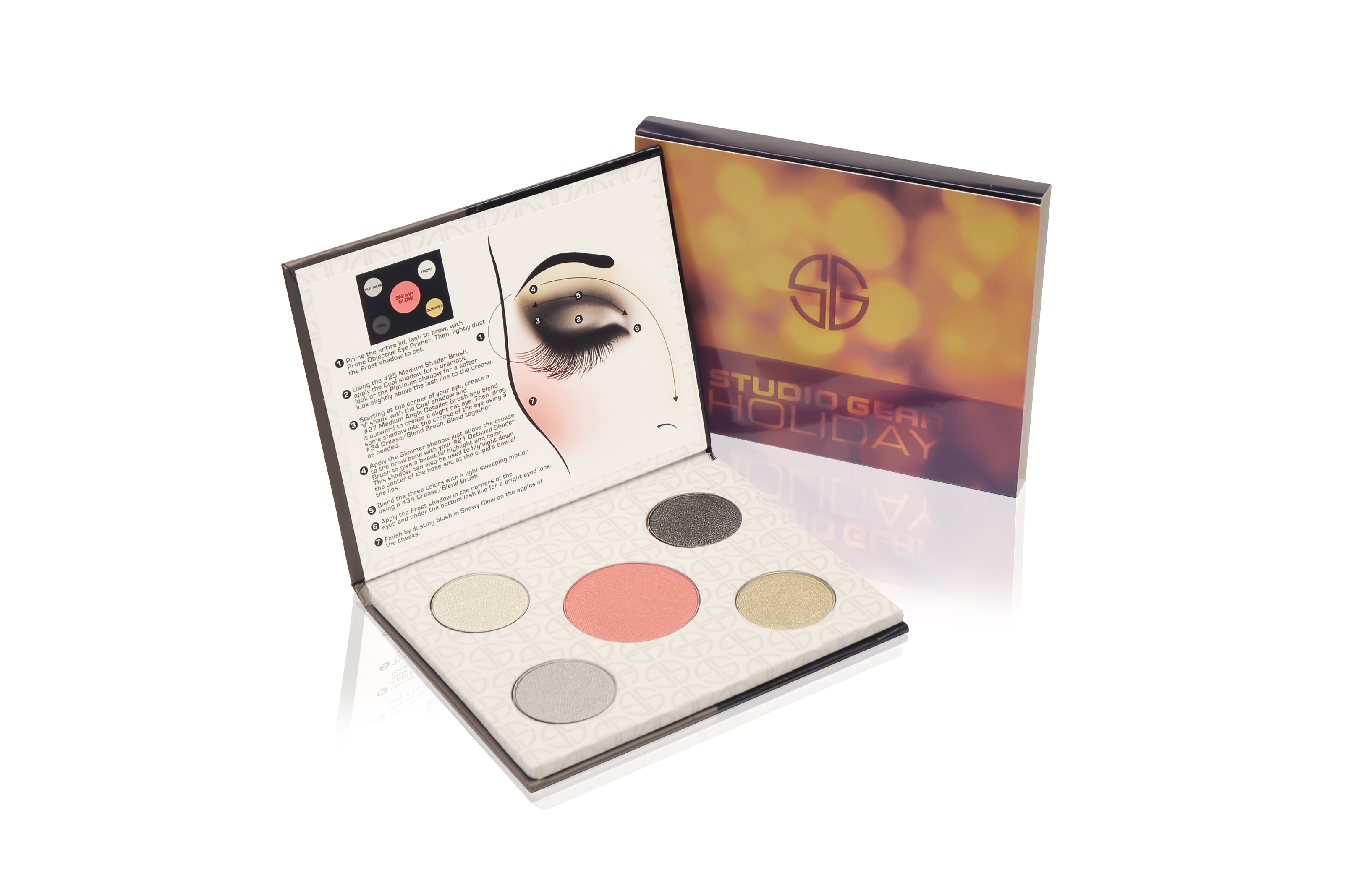 Studio Gear Smokey Eyeshadow Cosmetic Collection