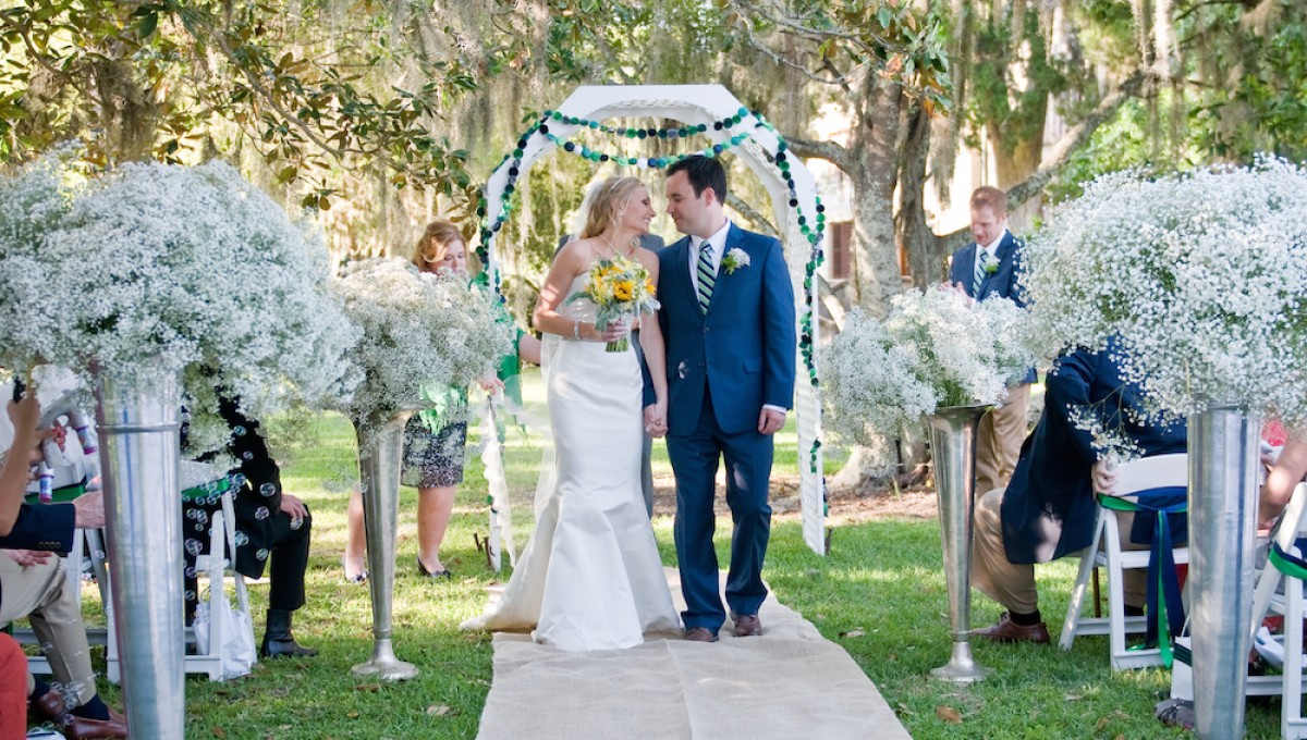 Real Cherokee Cottage Wedding :: Tara and Tom on Jekyll Island