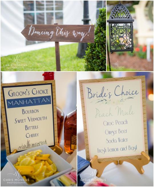 fun signature cocktails for weddings