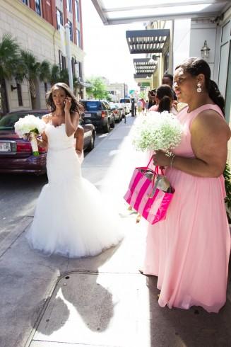 Savannah bride and groom wedding