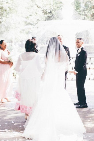 Savannah Forsyth Park Wedding