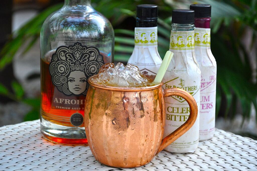 Briland Buck Moscow Mule Signature drink