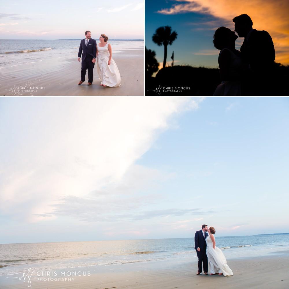saint simons island wedding beach elopement