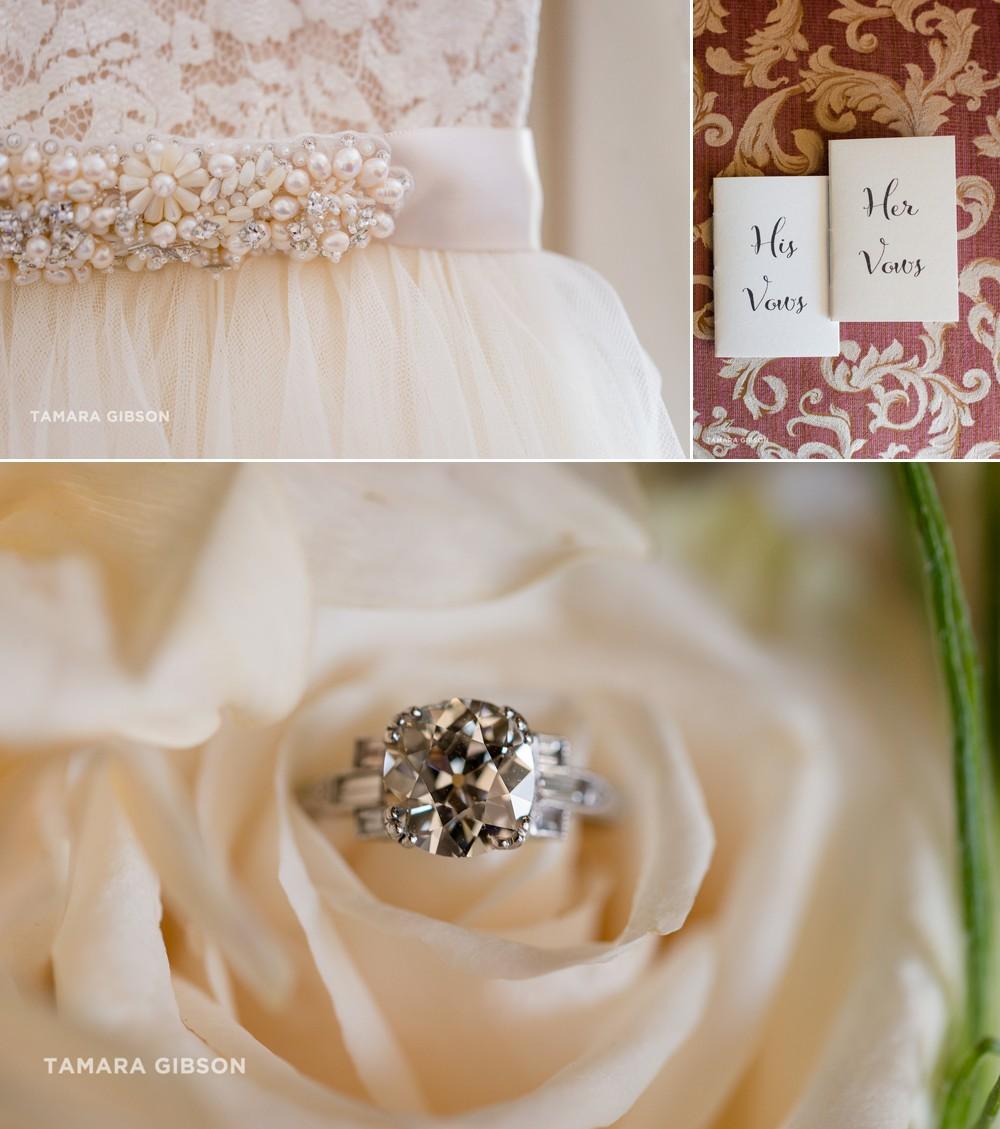 wedding dress vows wedding ring