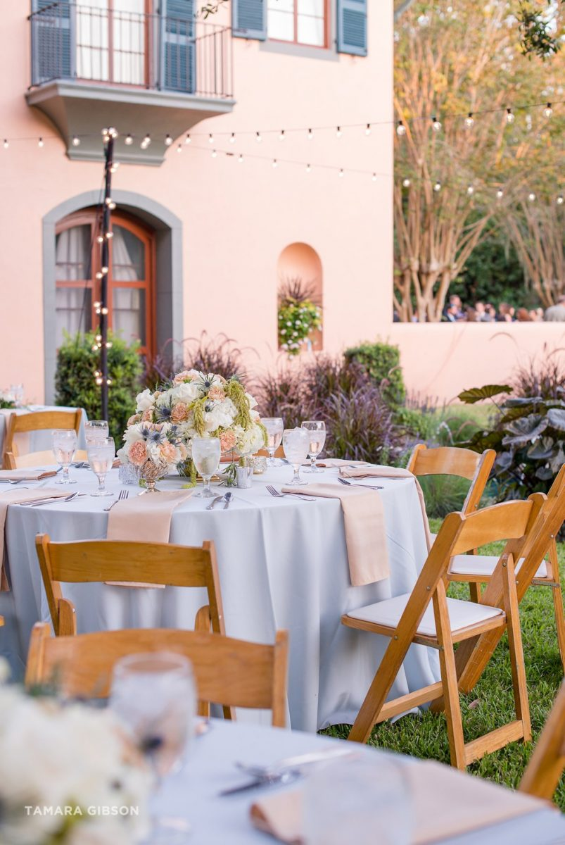 Jekyll Island Villa Marianna Wedding