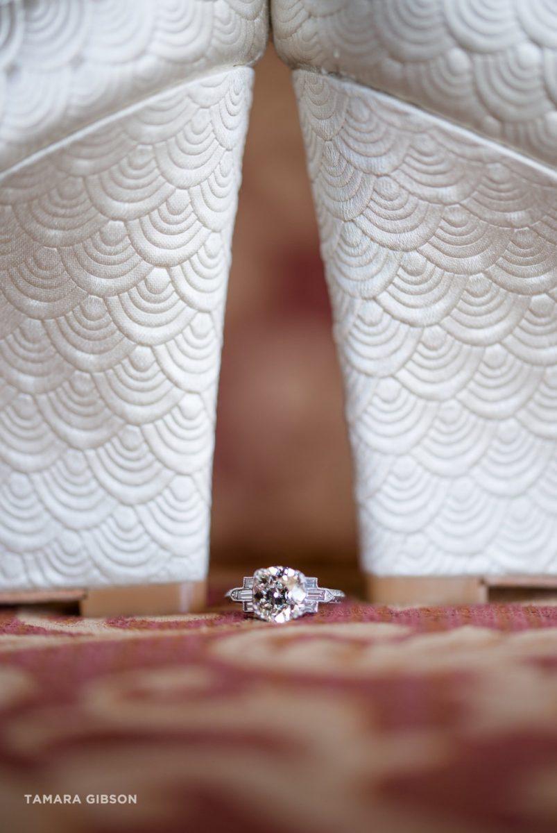art deco wedding ring shoes gatsby