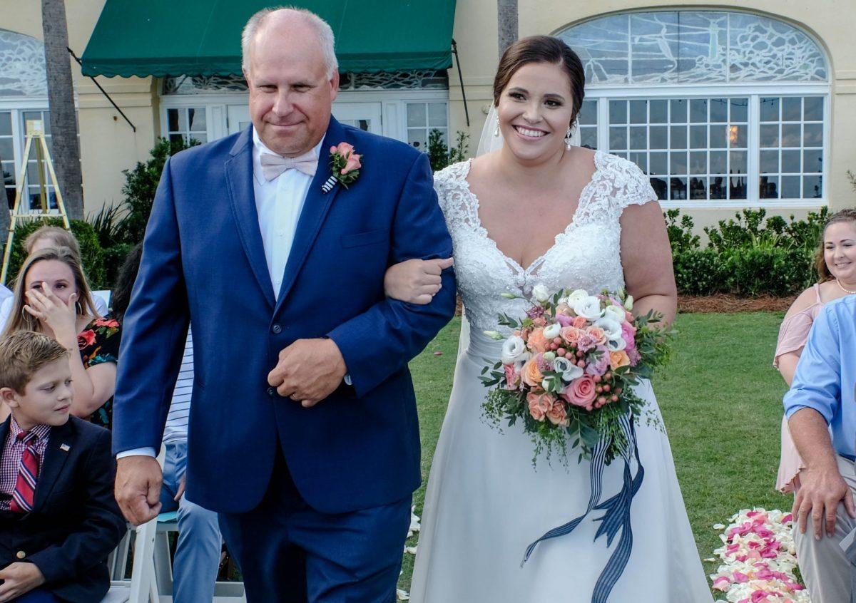 Beach Side Wedding at the King and Prince St Simons