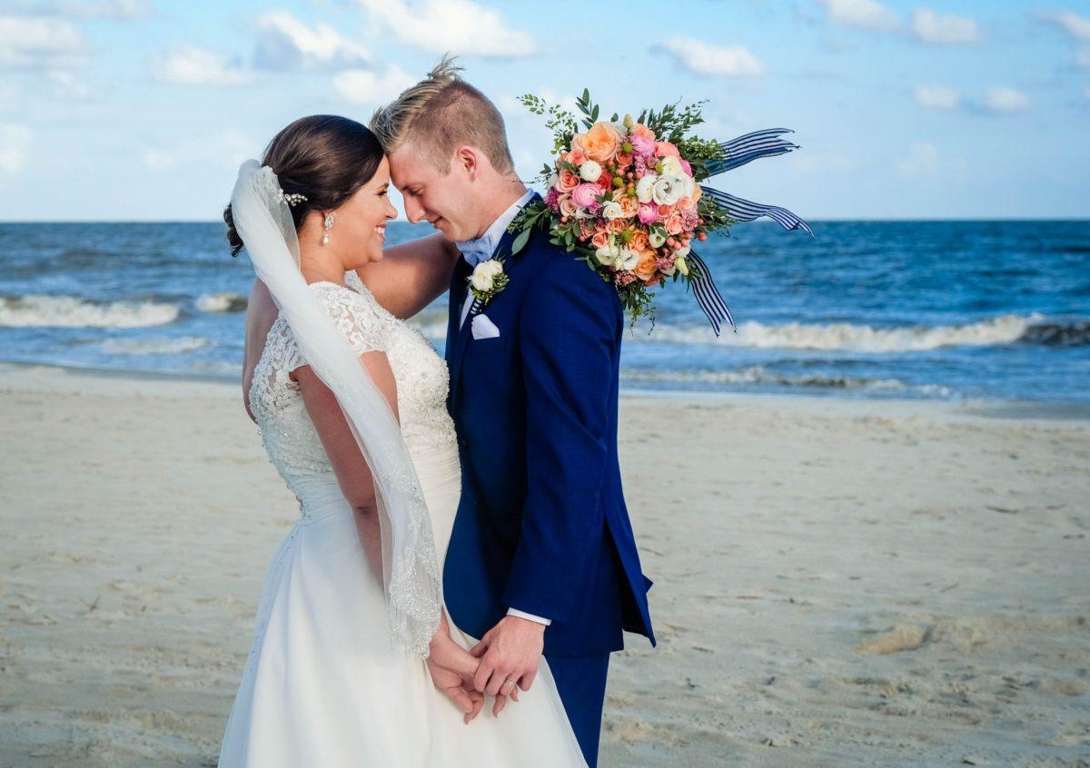 Beach Wedding Photos Saint Simons Island