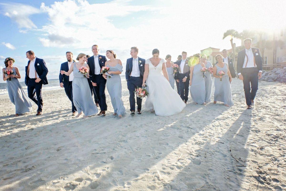 Beach weddings on Saint Simons Island