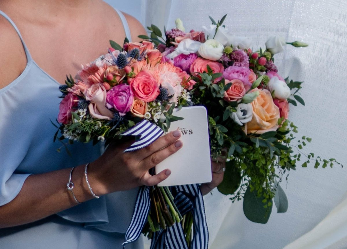 Wedding Flowers on Saint Simons Island
