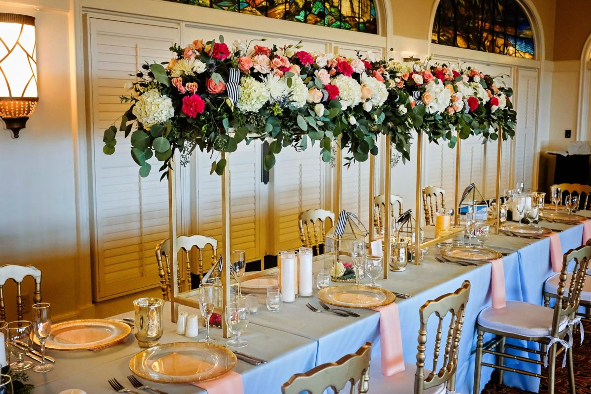 Wedding reception at the King and Prince Resort