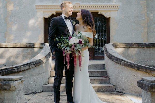 Bride and grommet Horton hose on Jekyll Island